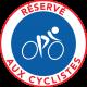 Autocollants dissuasifs réservé aux cyclistes - voiture garée sur piste cyclable