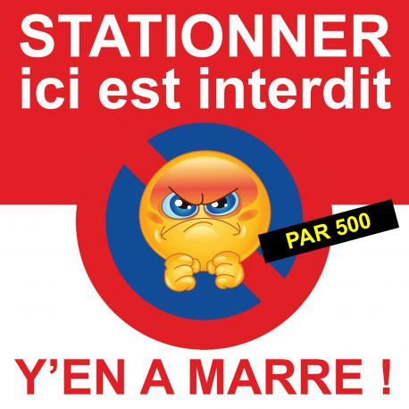 "Flyer ""interdiction de stationner"""