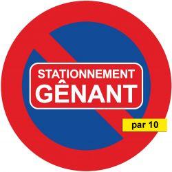 Autocollants Stationnement Gênant