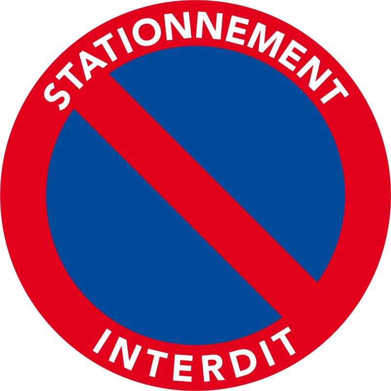 Autocollants dissuasifs stationnement g nant - Autocollant stationnement genant ...