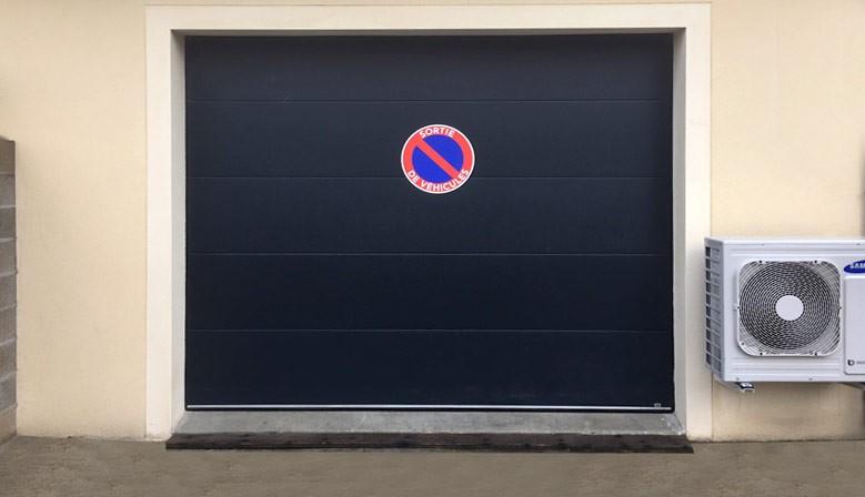 Panneaux stationnement interdit porte de garage